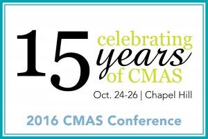 CMAS Graphic 15th anniversary