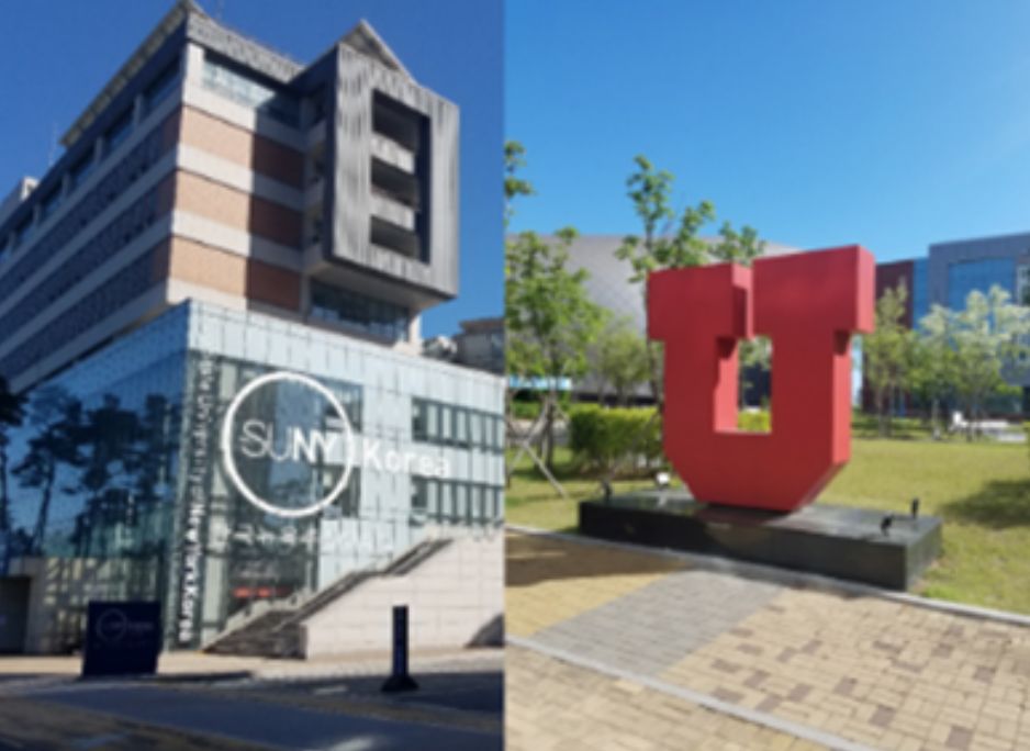 State University of New York and The University of Utah are just two of the universities a part of Songdo's university hub. These universities offer fields of study that look to mitigate the problems seen in the develop of the smart city.