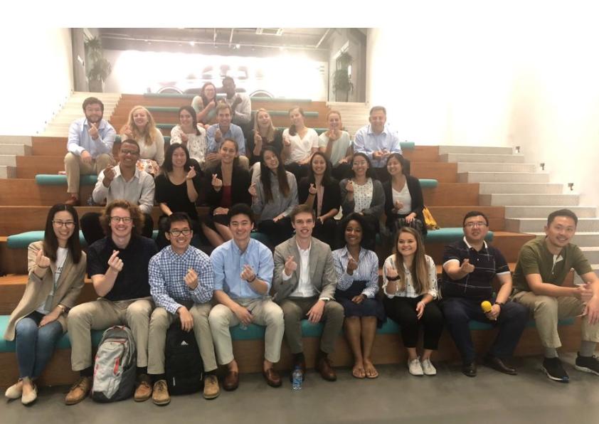 UNC Clean Tech Burch Seminar Trip