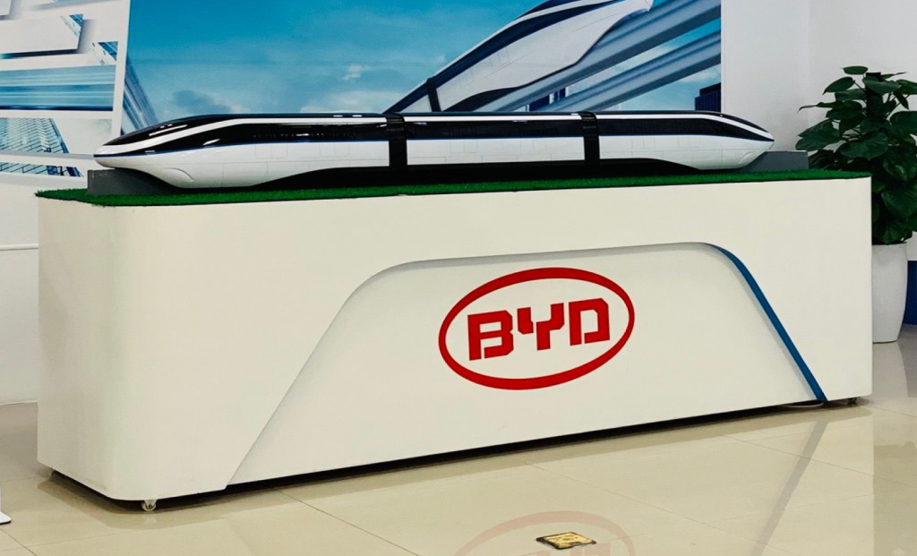 BYD and UNC Clean Tech Burch Seminar Trip to China