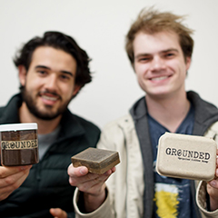 Parker Reposa and Drew Enyedi — Co-Founders of Grounded