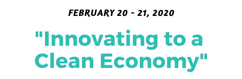 UNC Clean Tech Summit Theme 2020
