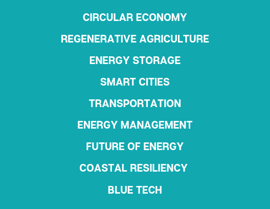 UNC Clean Tech Summit Themes 2020