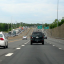 Evening rush hour traffic on I-66 westbound, as seen from eastbound lanes near Centreville, Virginia. (Creative Commons/Flickr)
