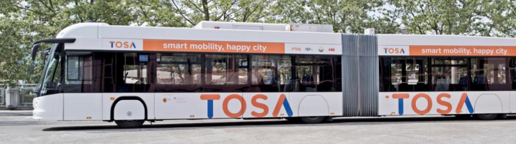 TOSA Bus UNC Clean Tech Summit