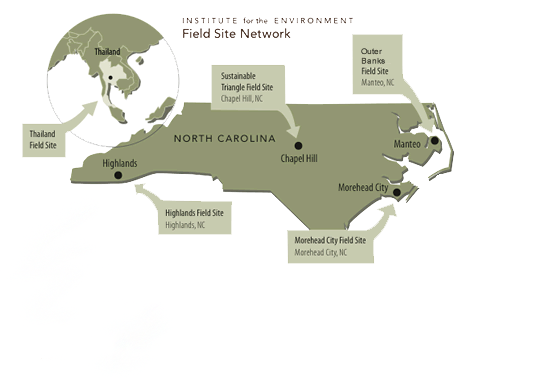 Field Sites Map